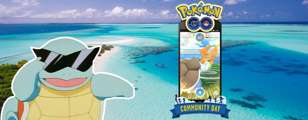 Pokémon GO: Schiggy mit Sonnenbrille beim Community Day im Juli bestätigt