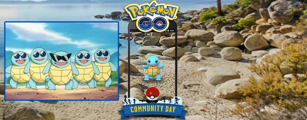 Pokémon GO: So fangt Ihr nur heute Schiggy mit Sonnenbrille