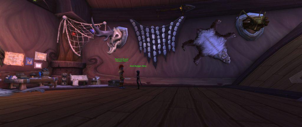 WOW Screenshot klassenhalle jäger platz von Mimiron