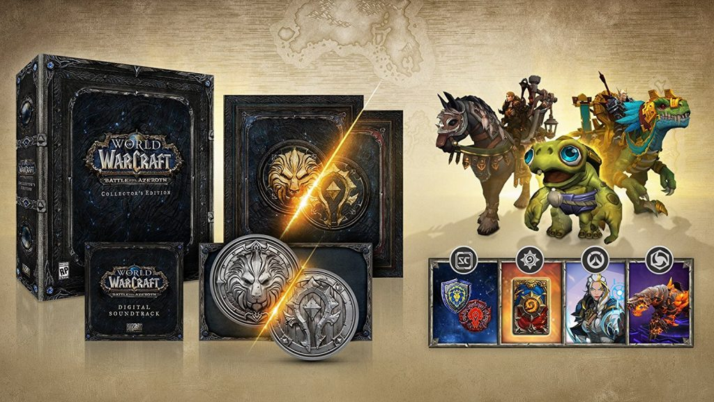 WoW Battle for Ayeroth Collectors Edition