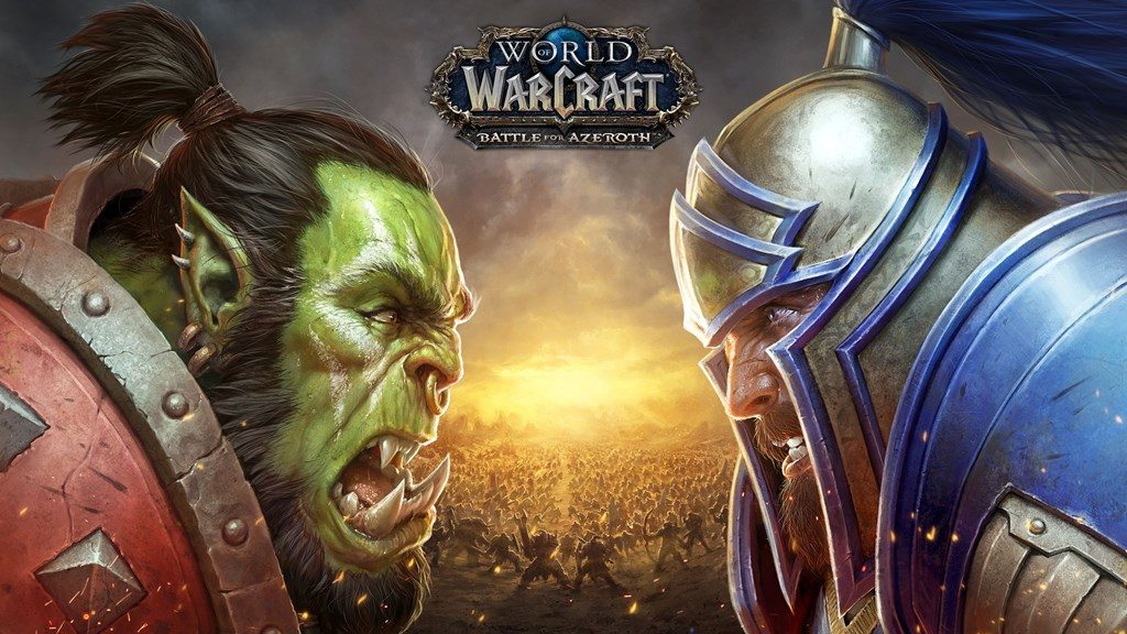 WoW Battle for Azeroth key art