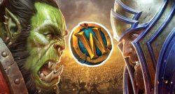 WoW Battle for Azeroth key art mit token titel