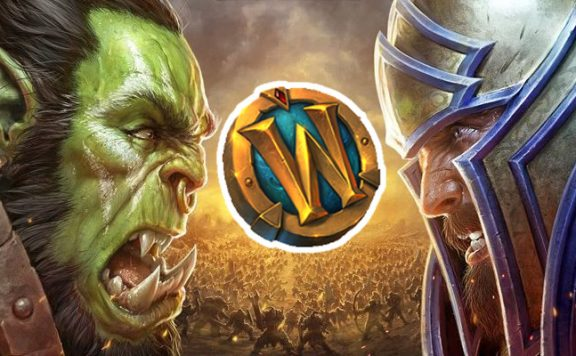 WoW Battle for Azeroth key art mit token titel