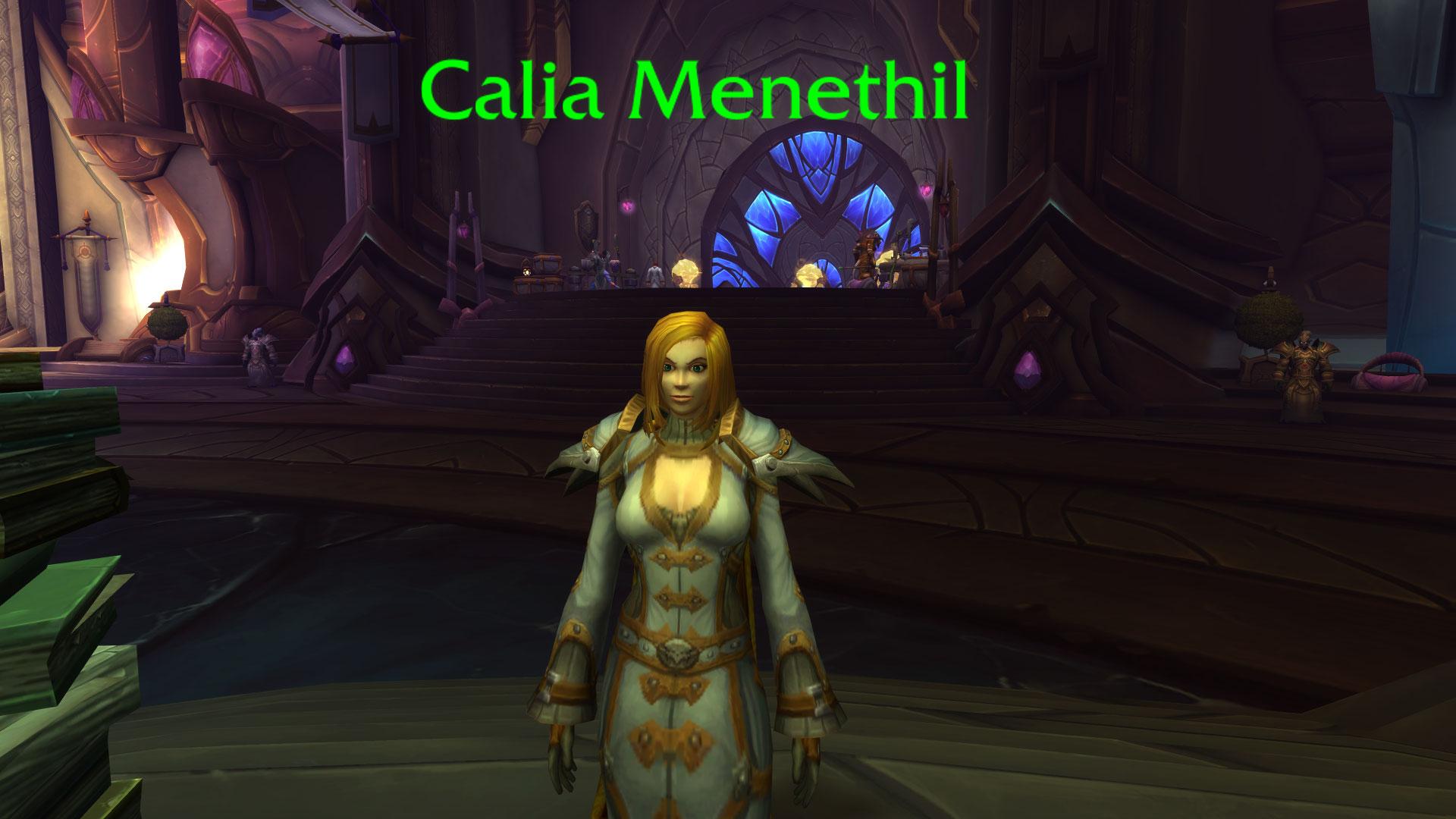 WoW Calia Menethil