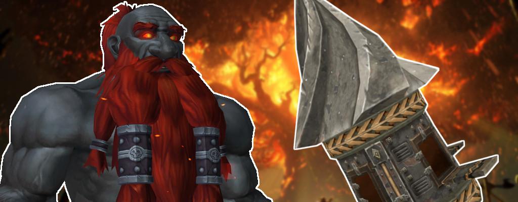 WoW Dark Iron Mole Machine title