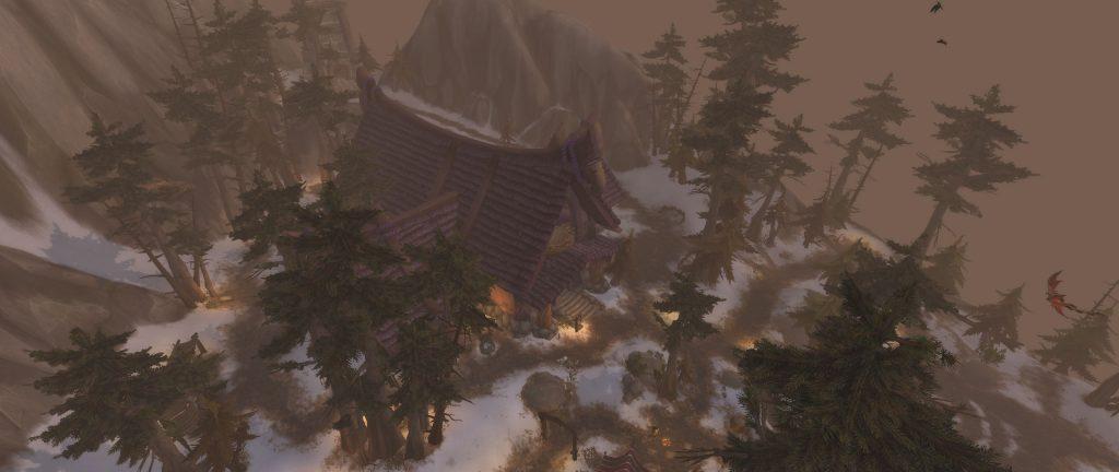 WoW Jäger Ordenshalle von oben