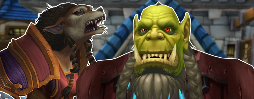 WoW Orc Worgen title