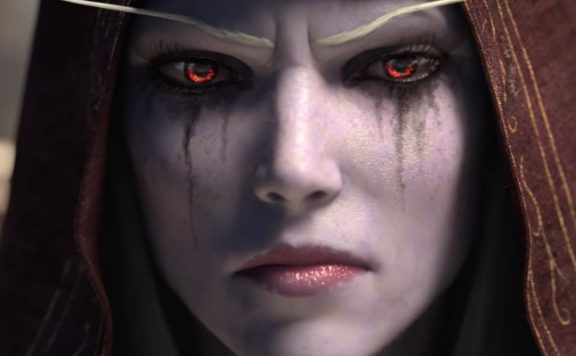 WoW Sylvanas Face serious title