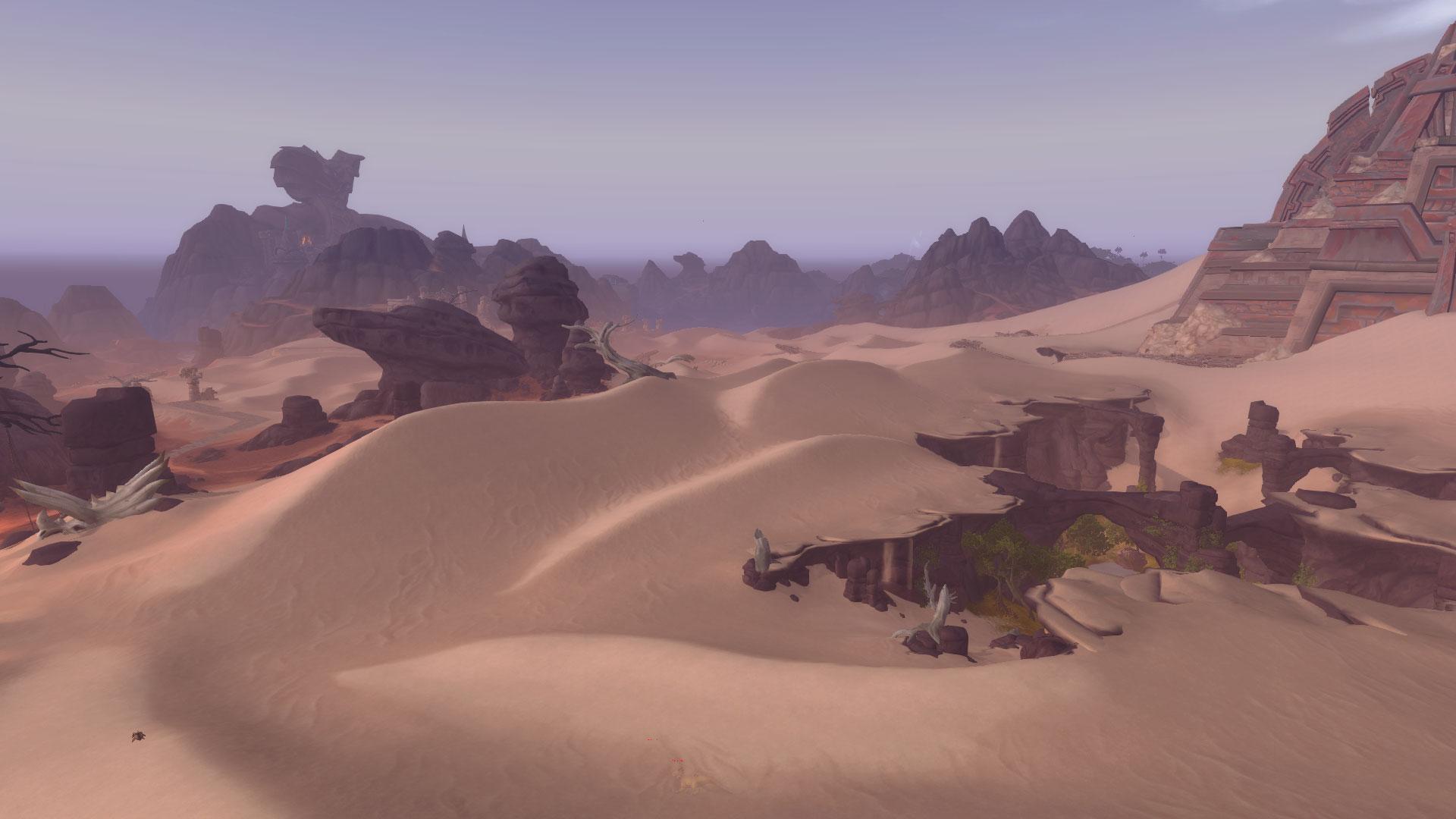 WoW Voldun Desert