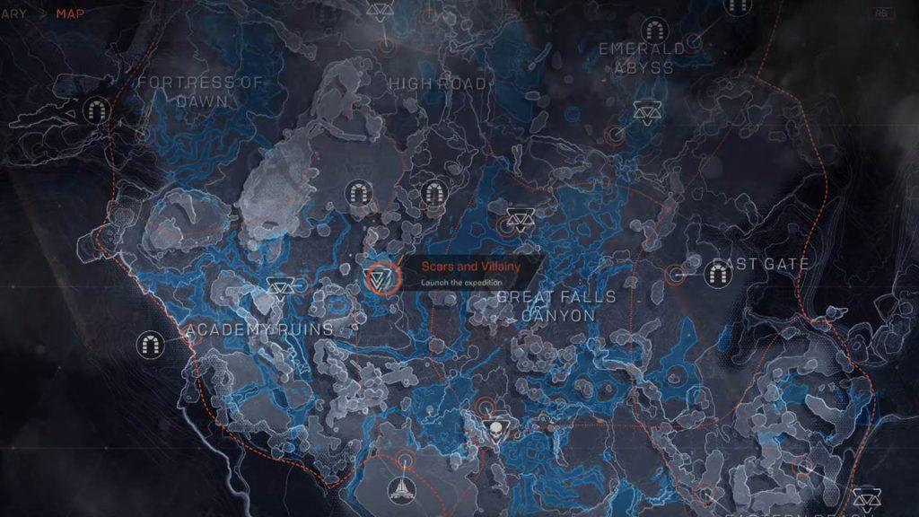 anthem map