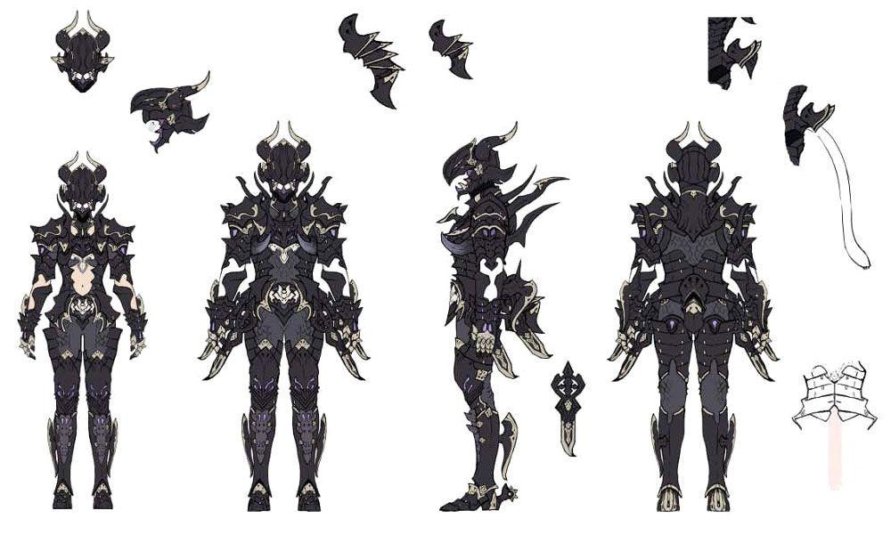 final fantasy xiv dragoon concept art