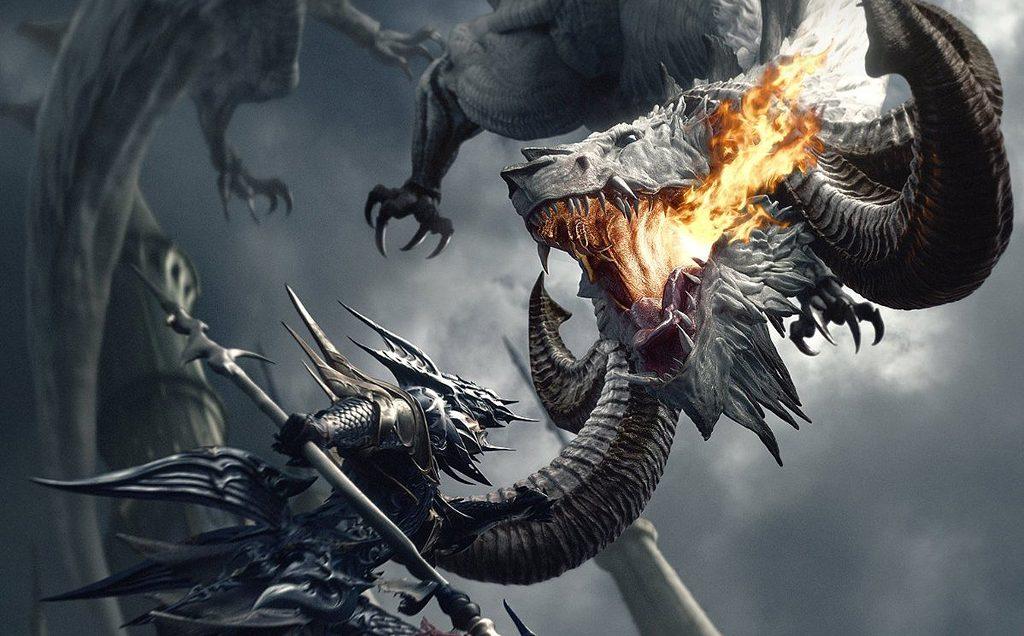 final fantasy xiv dragoon heavensward kampf