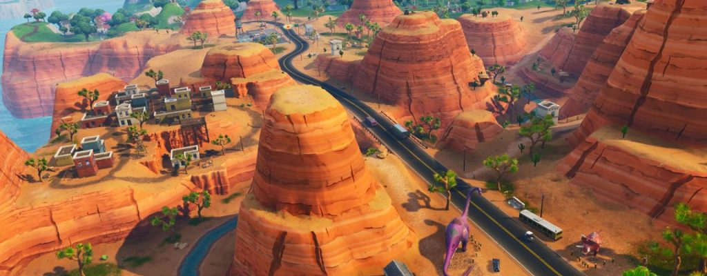 Fortnite so sieht die map in season 5 aus neu sind for Fortnite temporada 5 sala