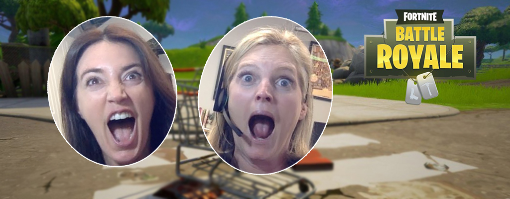 Fortnite: 2 Mütter machen nach, wie ihre Söhne spielen – Und das Internet lacht