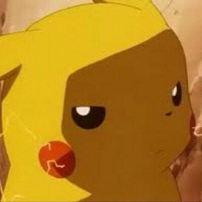 Pikachu wütend