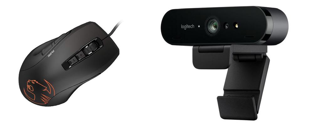 Streaming-Webcam zum Bestpreis, Roccat Kone ebenfalls reduziert