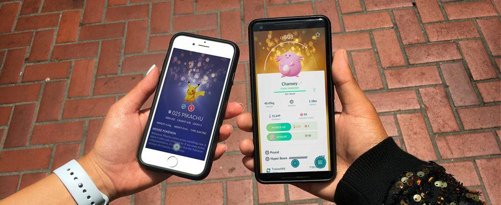 Glückspokémon Pokemon GO