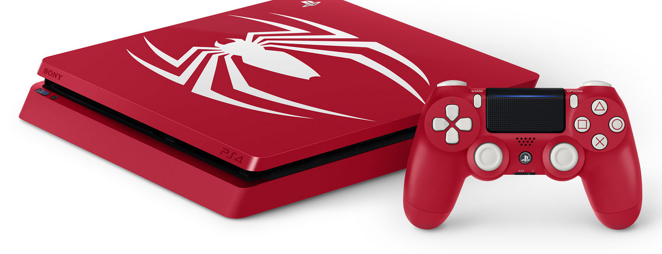 PS4 Slim Spider-Man Limited Edition