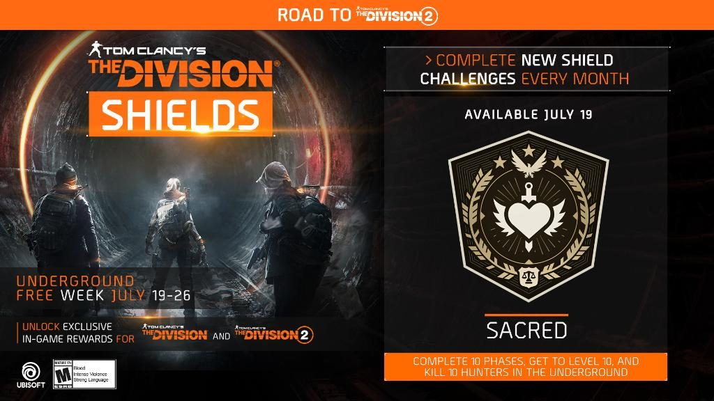 the division shield sacred