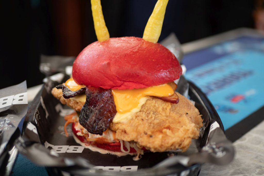 wow battle for azeroth burgers by josh sydney horde burger