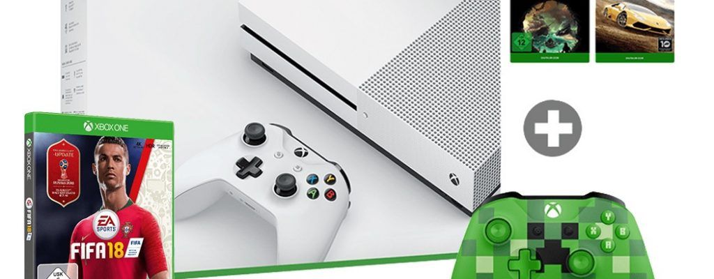 MICROSOFT Xbox One S 1TB Family Bundle für 239€ – Media Markt Mega Paket