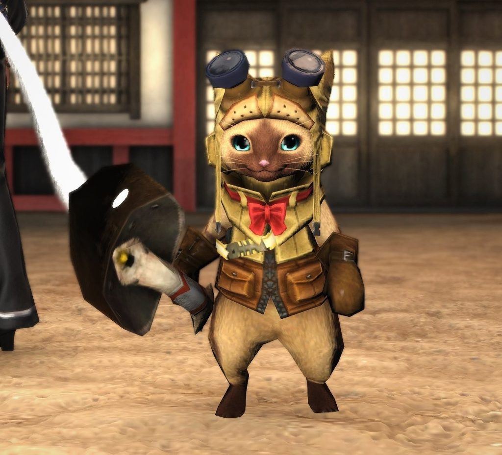 final fantasy xiv palico minion