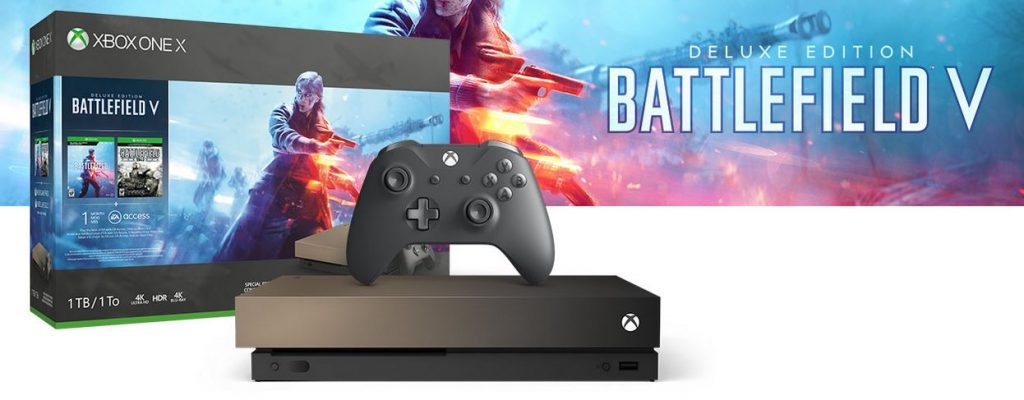 Battlefield 5 Gold Rush Special Edition Xbox One X angekündigt