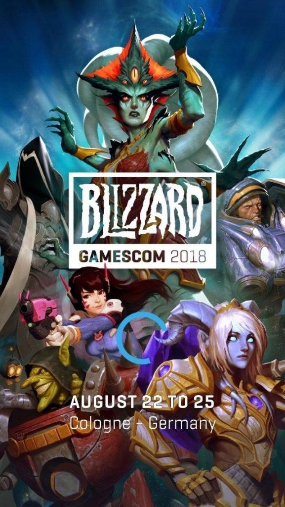 Blizzard auf der Gamescom App