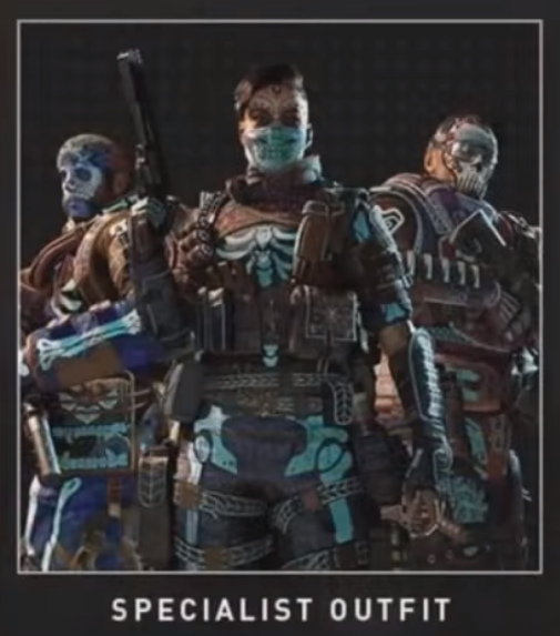 Cod Black ops 4 themed specialists