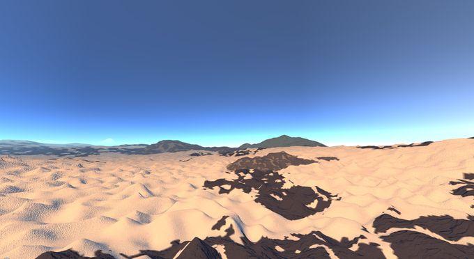 Codename Reality Concept Wüste