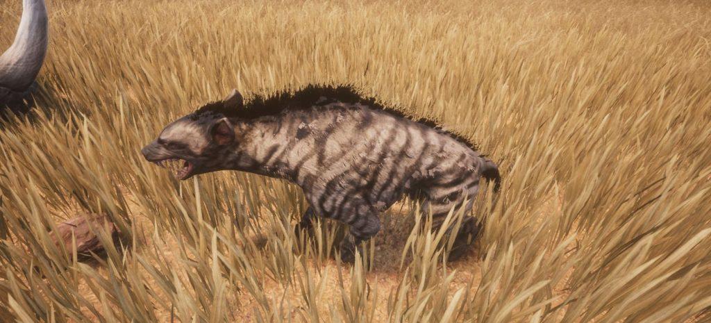 Conan Exiles screenshot gestreifte Hyäne