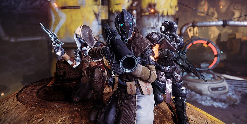 Destiny 2 forsaken 3 guardians