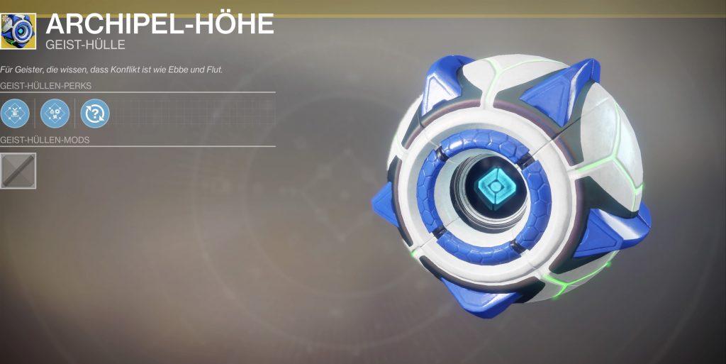Destiny 2 archipel-höhe geist