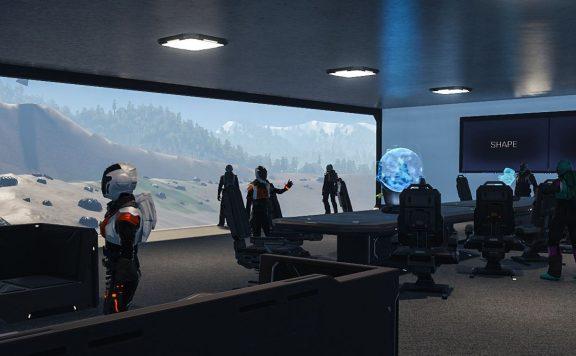 Dual Universe Pre Alpha Screenshot Büro Titel