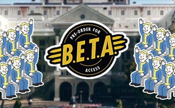 Fallout 76 weißes Haus 2 Titel beta WANT