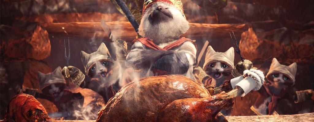 Gewinnt 4 PC-Versionen von Monster Hunter World im Wert von je 55€
