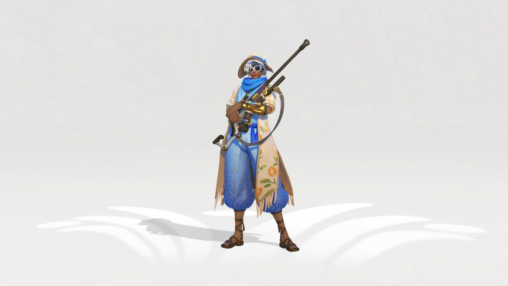 Overwatch Ana Cabana Legendary