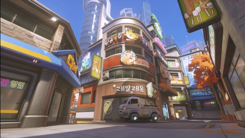 Overwatch Busan Downtown Restaurant