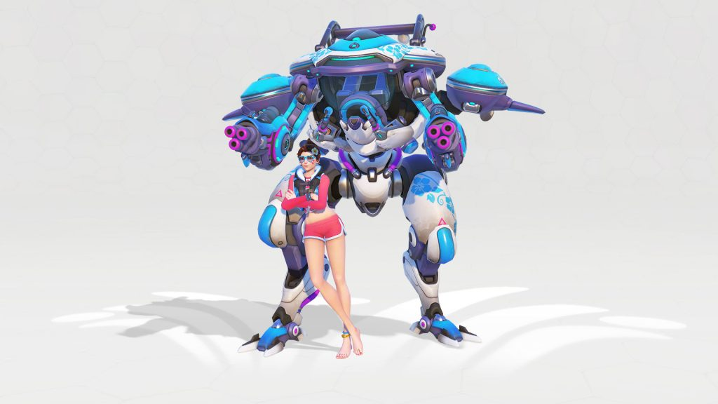 Overwatch DVA Waveracer Legendary