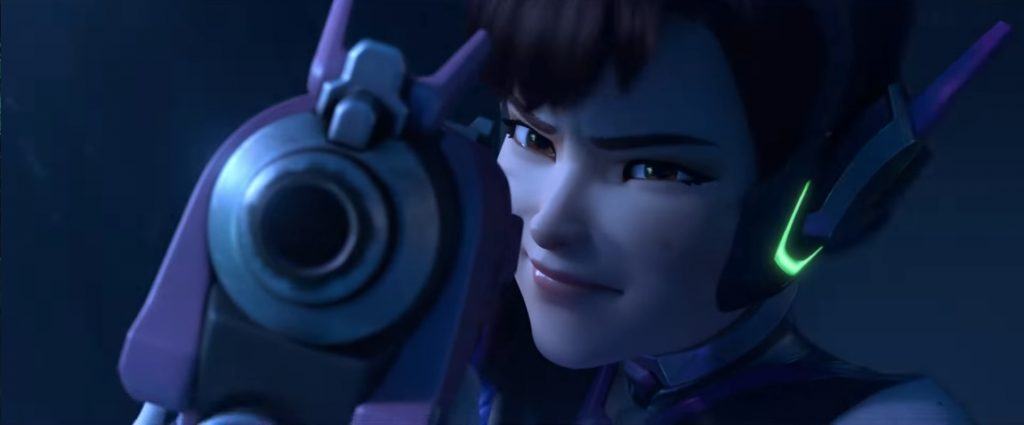 Overwatch DVa Cinematic title 3