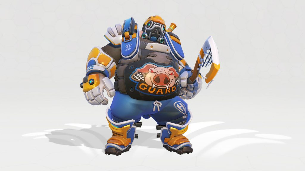 Overwatch Roadhog Lacrosse Legendary