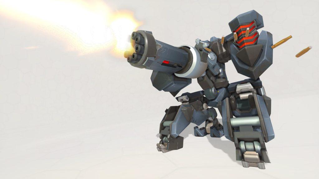 Overwatch Screenshot Bastion geschütz