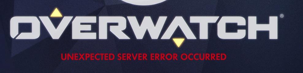 Overwatch Server Error