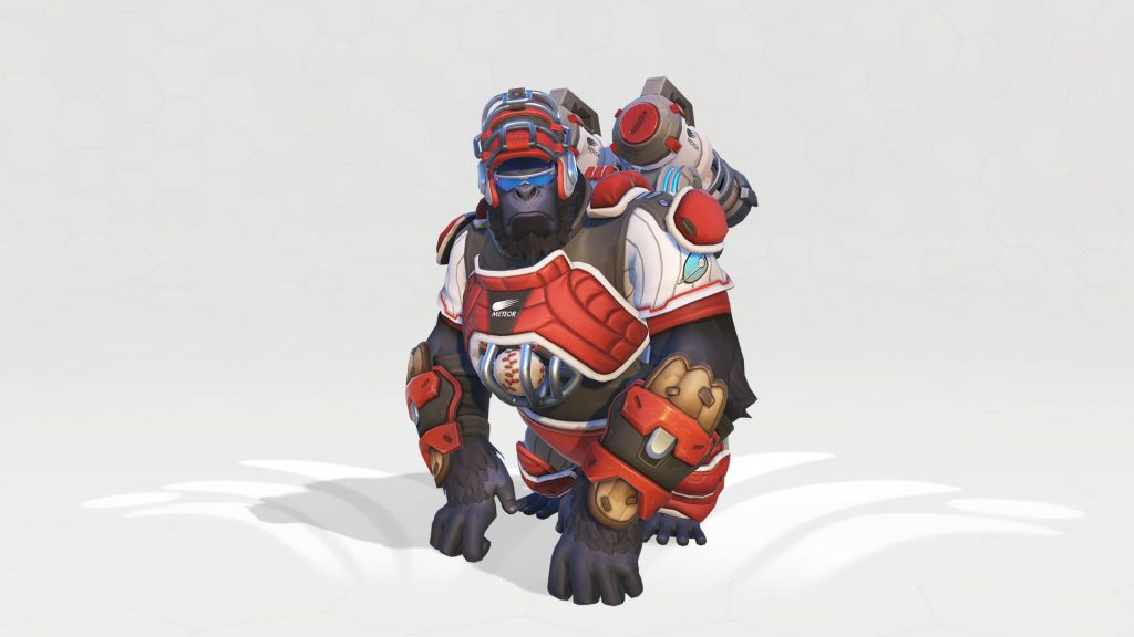 Overwatch Winston Catcher Legendary