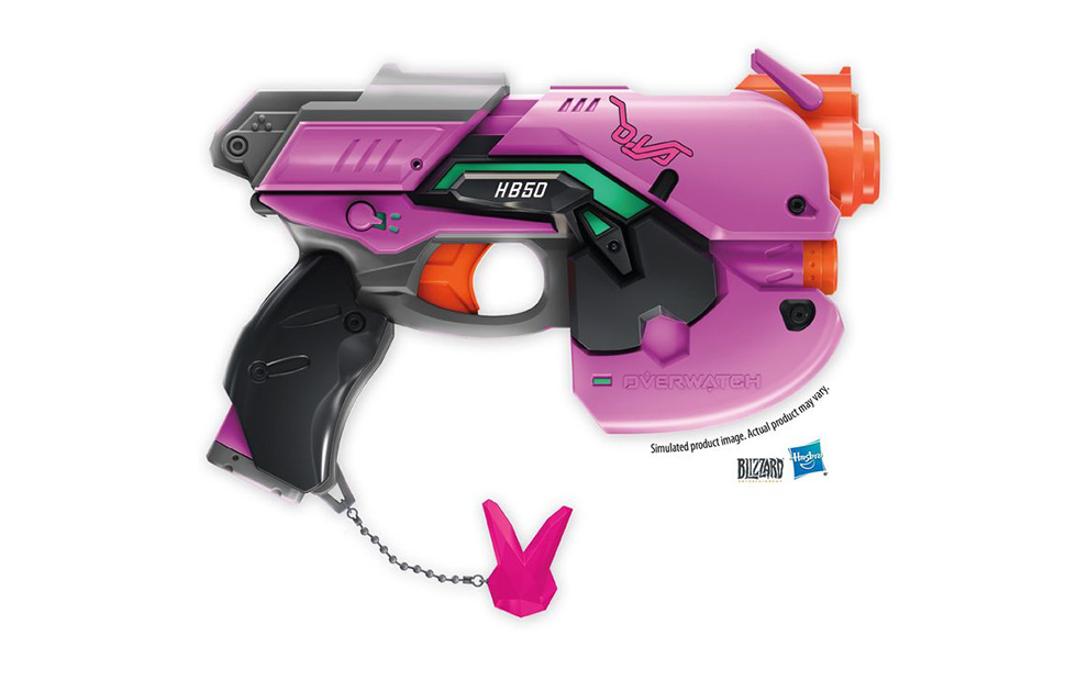 Overwatch nerf guns dva bunny blaster