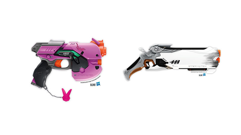 Overwatch nerf guns reaper schrotflinten und bunny blaster