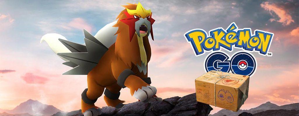 Pokémon GO Entei Titel Forschung