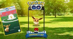 Pokémon GO Evoli Comm Day Titel Zuflucht Last Resort