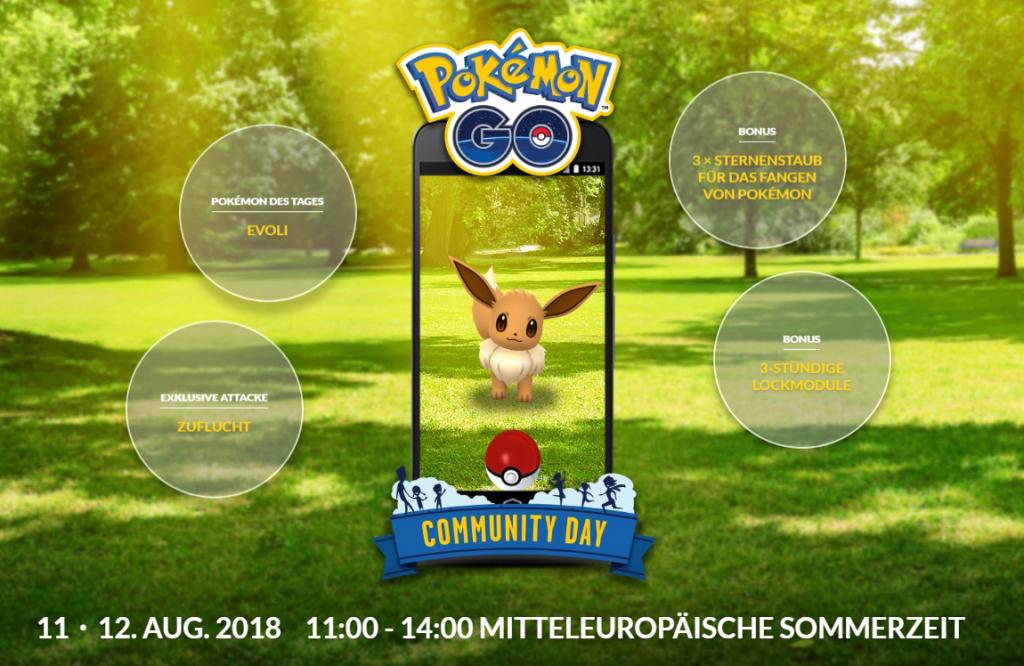 Pokémon GO Evoli Day