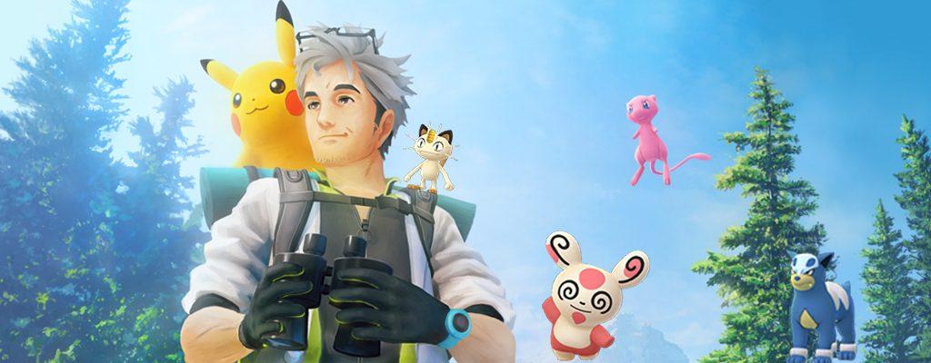 Pokémon GO Feldforschungen August